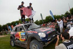 #301 Mini: Nasser Al-Attiyah, Mathieu Baumel, ganadores de la división de coches