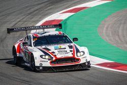 #28 KPM Racing, Aston Martin Vantage GT3: Paul White, Stefan Mücke, Jonny Adam