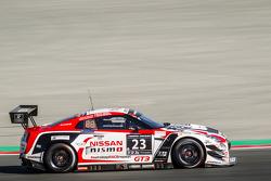 #23 Nissan GT Academy Team RJN, Nissan GTR GT3: Florian Strauss, Ricardo Sanchez, Ahmed Bin Khanen, Nick Hammann, Gaetan Paletou