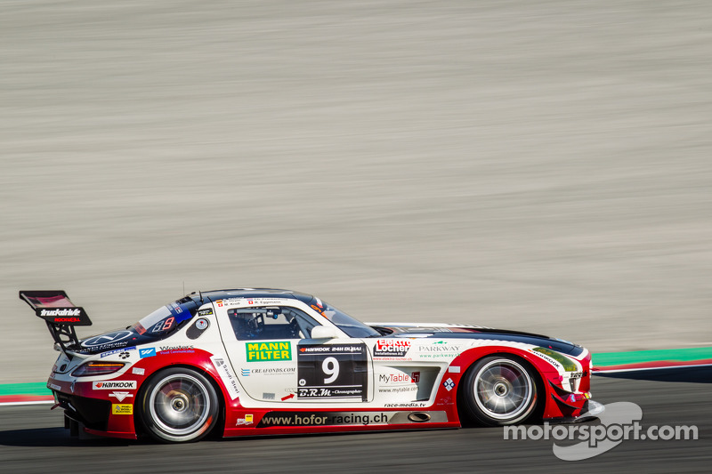 #9 Hoдля-Racing Mercedes SLS AMG GT3: Michael Kroll, Kenneth Heyer, Christiaan Frankenhout, Роланд Еггіманн, RolAndrehfeld