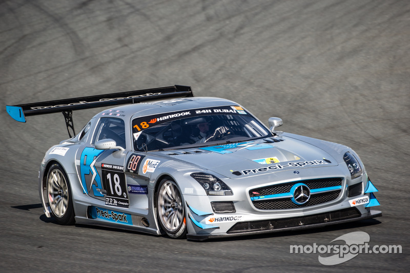 #18 Preci - Spark Mercedes SLS AMG GT3: David Jones, Godfrey Jones, Philip Jones, Gareth Jones, Morg