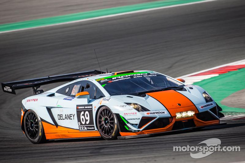 #69 Gulf Racing UK Lamborghini Gallardo LP560 GT3: Роальд Гете, Стюарт Холл, Фредерік Фатьєн, Джеймі