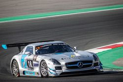 #18 Preci - Spark, Mercedes SLS AMG GT3: David Jones, Godfrey Jones, Philip Jones, Gareth Jones, Mor