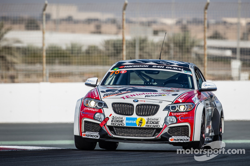 #70 Mission Possible By Sorg Rennsport BMW M235i Racing Cup: Gustav Engljähringer, Marc Dilger, Mike Smit, Matt Speakman