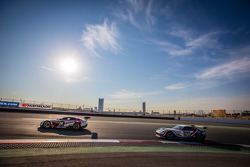 #28 KPM Racing Aston Martin Vantage GT3: Paul White, Stefan Mücke, Jonny Adam, #169 Speedworks Motor