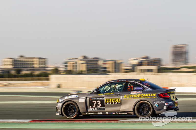 #73 Race-House Motorsport BMW M235i Racing Cup: Dag von Garrel, Stephen Perry, Max Girardo, Konstant