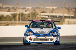 #57 LAP57 Racing Honda Integra Type R: Mohammed Al Owais, Abdullah Al Hammadi, Nader Zuhour, Junichi