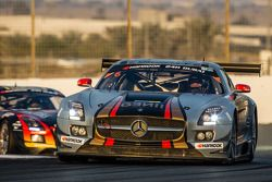 #6 Gravity Racing International, Mercedes SLS AMG GT3: Vincent Radermecker, Eric Lux, Gérard Lopez,