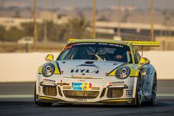 #46 MRS GT-Racing, Porsche 991 Cup: Siegfried Venema, Chris le Bon, Ilya Melnikov, Bassam Konfli, El
