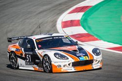 #51 Primus Racing Ginetta G50 GT4: Peter Larsen, Johan Rosen, Magnus Holmström, Thomas Martinsson