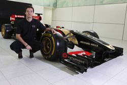 Jolyon Palmer with the Lotus F2