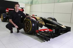 Jolyon Palmer avec la Lotus F1