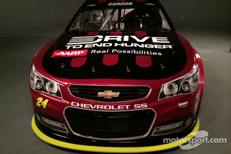 AARP Drive to End Hunger: Neues Autodesign für Jeff Gordon 2015