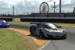 El rugido de los motores previo a las pruebas de las 24 Horas de Daytona