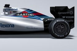 Detail of the new Williams FW38