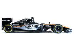 2015 Sahara Force India renk düzeni