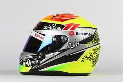 Helm von Sergio Perez, Sahara Force India F1