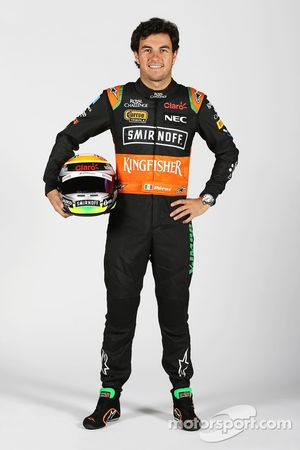 Sergio Pérez, del Sahara Force India F1