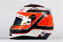Casco de Nico Hulkenberg, de Sahara Force India F1