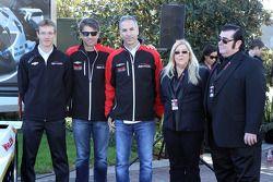 Drivers Sébastien Bourdais, Christian Fittipaldi, Joao Barbosa, Action Express Racing