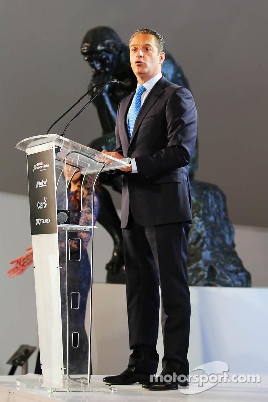 Carlos Slim, Chairman of America Movil