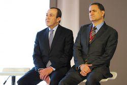 (Von links nach rechts): Francisco Maass Pena, stellvertretender Tourismus-Minister, und Alejandro S