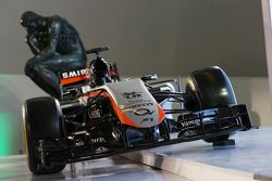 De Sahara Force India F1 Team 2015 livery is onthuld in het Soumaya Museum
