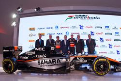 2015 Sahara Force India F1 Team livrea