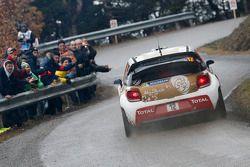 Mads Ostberg e Jonas Andersson, Citroën DS3 WRC, Citroën Total Abu Dhabi World Rally Team