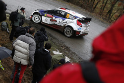 Bryan Bouffier und Xavier Panseri, Ford Fiesta WRC