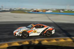 #24 Autometrics Motorsports,保时捷卡曼: Cory Friedman, David Baum