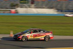 #75 Compass360 Racing Honda Civic Si: Paul Holton, Kyle Gimple