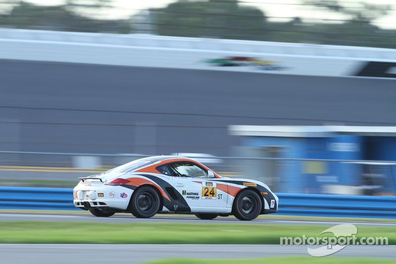 #24 Autometrics Motorsports, Porsche Cayman: Cory Friedman, David Baum