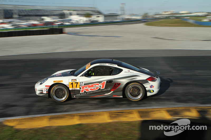 #17 TSI Porsche Cayman: Luis Rodriguez Jr., Spencer Pumpelly