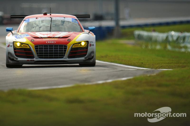 #45 Flying Lizard Motorsports Audi R8 LMS: Маркус Вінкелхок, Robert Thorne, Satoshi Hoshino, Tomonobu Fujii