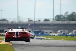 #49 AF Corse Ferrari 458 Italia: Pasin Lathouras, Michele Rugolo, Rui Aguas, Matt Griffin