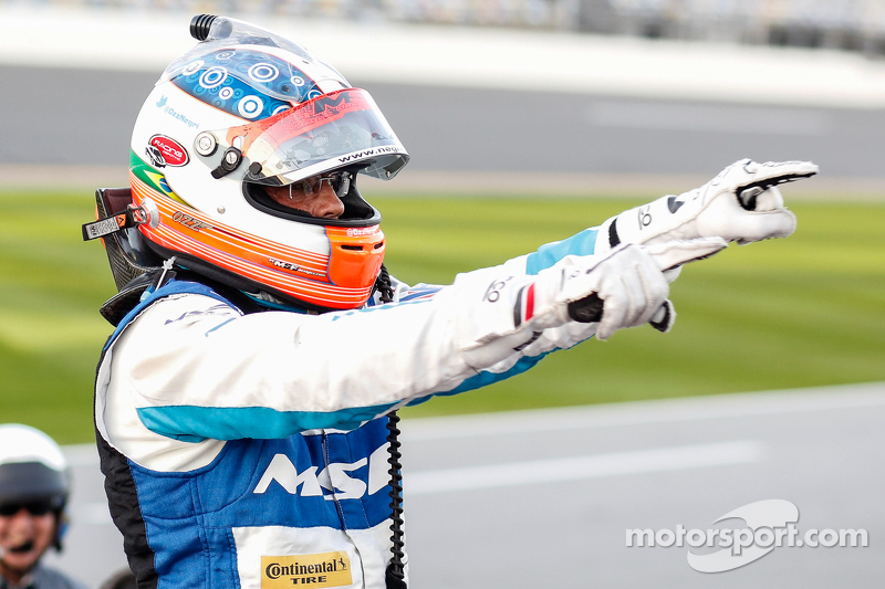 Oswaldo Negri Jr., Michael Shank车队,Aero Ligier JS PS2本田HPD赛车,庆祝胜利