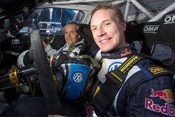 Jacky Ickx en Jari-Matti Latvala