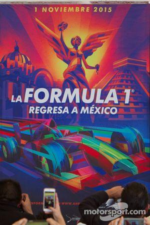 Meksika Grand Prix'si posteri