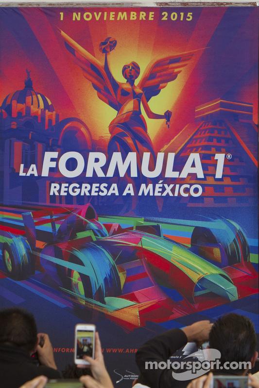 Poster do GP do México