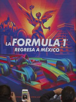ملصق إعلان جائزة المكسيك الكبرى