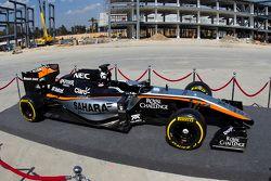 Farbdesign von Force India für 2015