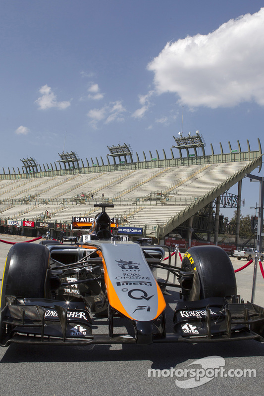 Uniforme da Force India 2015