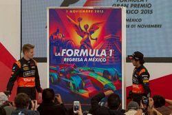 Poster zum Großen Preis von Mexiko mit Nico Hülkenberg und Sergio Perez