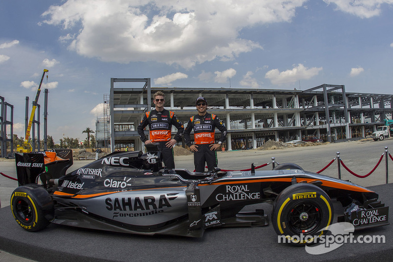 Nico Hülkenberg und Sergio Perez
