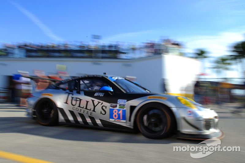 #81 GB Autosport,保时捷911,美洲GT: Damien Faulkner, Kuba Giermaziak, Mike Skeen, Rory Butcher, Michael Av