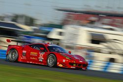 #62 Risi Competizione Ferrari F458: Pierre Kaffer, Davide Rigon, Giancarlo Fisichella, Olivier Beretta