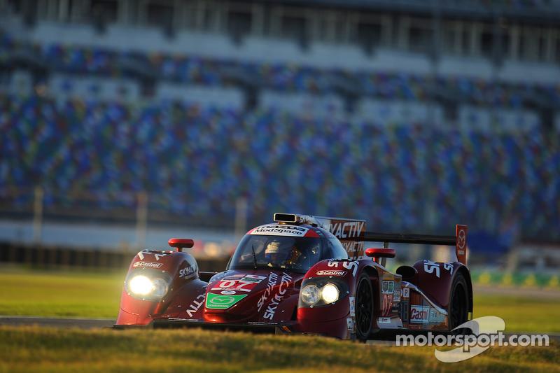 #07 SpeedSource Mazda Prototype: Joel Miller, Tom Long, Ben Devlin, Sylvain Tremblay