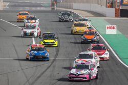 Tour de chauffe: #110 Autosport GP Renault Clio IV Cup: Benoit Carreras, Franck Traynard, Jérôme Thiery, Antoine Boulay