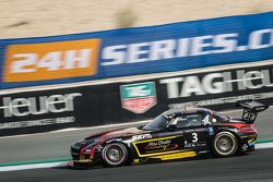 #3 阿布扎比车队,黑鹰梅赛德斯SLS AMG GT3: Khaled Al Qubaisi, Jeroen Bleekemolen, Bernd Schneider, Andreas Simonse